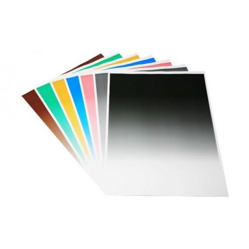 Falcon Eyes papīra fonu komplekts 80x100 cm ar graduālu krāsu pāreju 7gab.