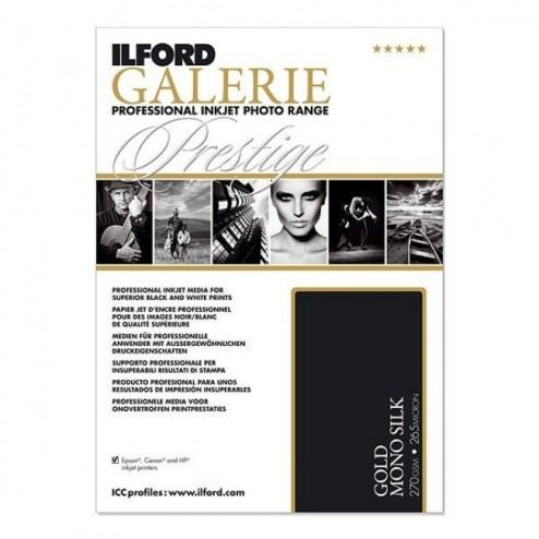 Ilford GALERIE Prestige Gold MONO Silk inkjet papīrs A2/25 (42,0 x 59,4)