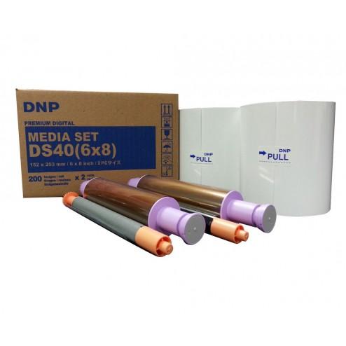 DNP materiāls printerim DS40 - 15x23cm | 360 gab