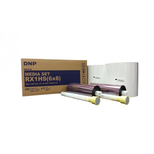 DNP materiāls printerim DS-RX1HS - 15x20 cm | 700 gab