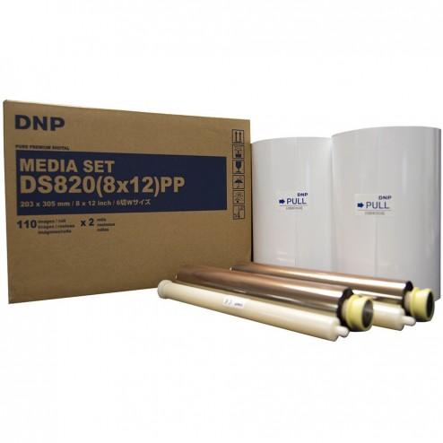 DNP Premium Digital materiāls printerim DS820 - 20x30 cm   220 gab (440 gab 15x20 cm)