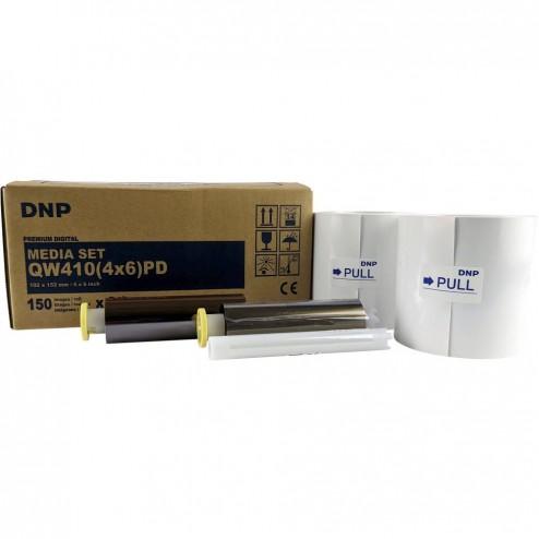DNP materiāls printerim DP-QW410 10x15cm 300 gab.