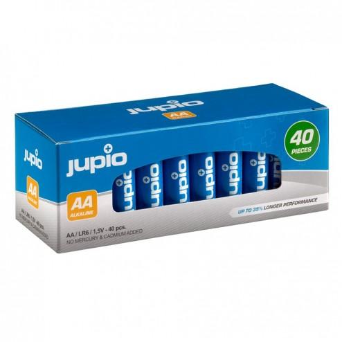 Jupio Alkaline baterijas AA 40 gab.