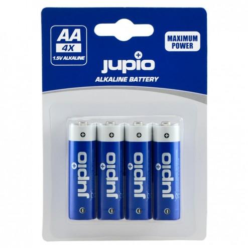 Jupio Alkaline baterijas AA LR6 4 gab. VPE-10