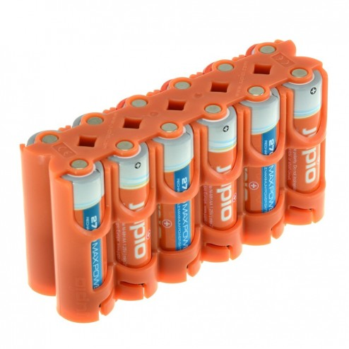 Jupio Power Clip turētājs 12xAA baterijām