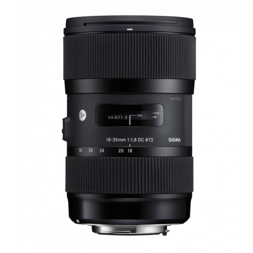 Sigma 18-35mm F1.8 DC HSM Art objektīvs Canon