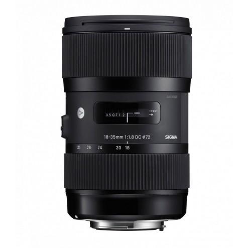 Sigma 18-35mm F1.8 DC HSM Art objektīvs Nikon