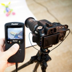 Phottix Hector Live-View Pults ar vadu Canon