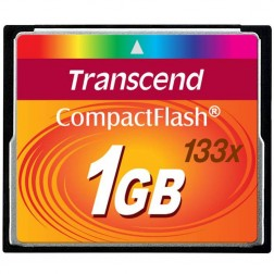 Transcend Compact Flash 1GB Karte MLC 133X