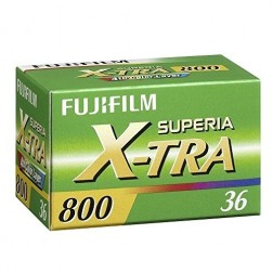 Fuji Superia X-tra 800 135/36 filma