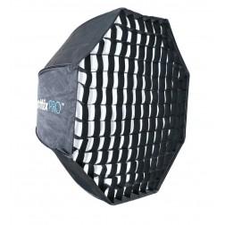 Phottix Easy Up HD lietussargveidīgs oktabokss ar režģi 80cm