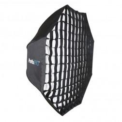 Phottix Easy Up HD lietussargveidīgs oktabokss ar režģi 120cm