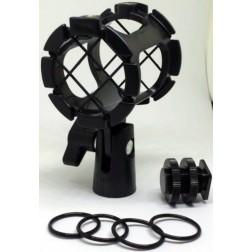 Fotocom Amortizējošs mikrofona turētājs (2.5-3.8cm diametram)