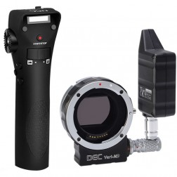 Aputure DEC Canon EF to E-mount lens Adapter with remote control and built-in Variable ND Filter