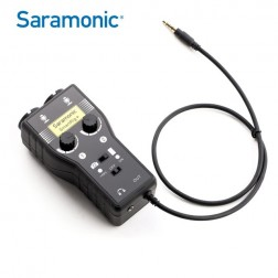 Saramonic Microphone Adapter SmartRig+for DSLR and Smartphone