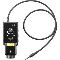 Saramonic Mikrofona Adapteris SmartRig II paredzēts iOS un Android Telefoniem