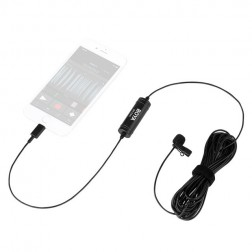 Boya Lavalier Microphone 6m BY-DM1 with Lightning for iOS devices