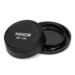 Pixel Lens Rear Cap BF-15L+Body Cap BF-15B for Nikon