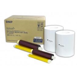 DNP materiāls printerim DS620 - 15x20 (10x15) cm | 400 gab (800)
