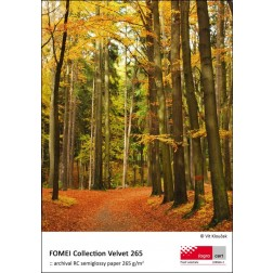 Fomei Collection Real Velvet 265 inkjet papīrs A3+ (32,9 x 48,3cm)/50
