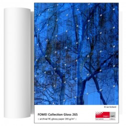 Fomei Collection Gloss 265 inkjet papīrs 21cm x 30,5m