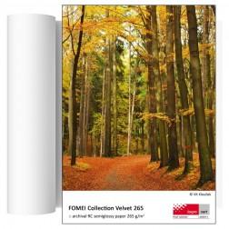 FOMEI Collection Real Velvet 265 inkjet papīrs 61,0cm x 30,5m