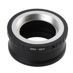 Mehāniskais objektīvu adapteris M42-NEX