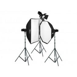Fomei Digitalis Pro 600/600/400 studijas zibspuldžu komplekts