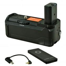 Jupio Battery Grip paredzēts Sony A6000 / A6300 + Palaišanas trosīte