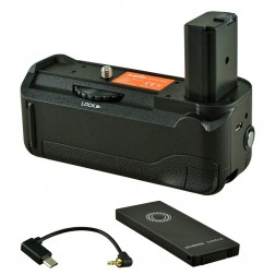 Jupio Battery Grip paredzēts Sony A6500 + Palaišanas trosīte
