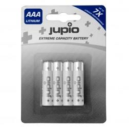 Jupio Litija baterijas AAA 4 VPE-14