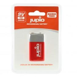 Jupio Lādējamā baterija 9V (krona) 250 mAh 1 gab.