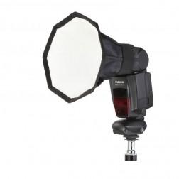 Fotocom Vidējais kameras zibspuldzes oktabokss 20cm