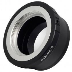 Fotocom Objektīvu adapteris M42-MFT