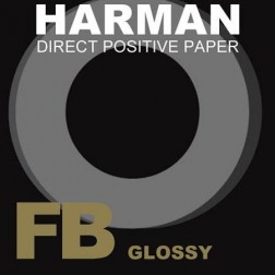 Ilford Harman Direct Positive FB 1K 5x7in/25 B/W Paper