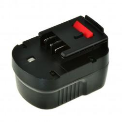 Jupio Black & Decker FSB12 Rechargable Battery - Ni-MH 12V