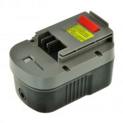 Jupio Black & Decker HPB14 Rechargable Battery - Li-ion 14.4V + charger