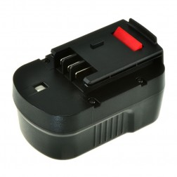 Jupio Black & Decker HPB14 Rechargable Battery - Ni-MH 14.4V