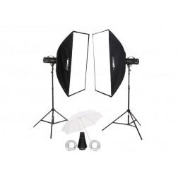 Fomei Digital Pro X 500/500 studijas zibspuldžu komplekts