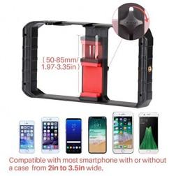 Fotocom Plastic Compact Handheld Filmmaking Video Rig for Smartphone