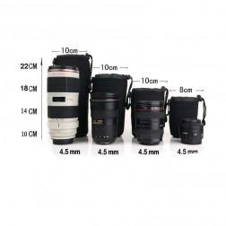 Fotocom ūdensdroša neoprēna objektīvu soma XL d10cm h22cm