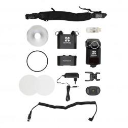 Quadralite Reporter 360 TTL zibspuldzes komplekts Canon