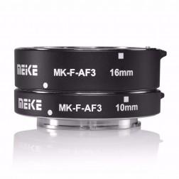 Meike makro gredzenu komplekts paredzēts Fuji X (10mm, 16mm)