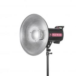 Quadralite Deep Beauty Dish reflektors sudraba 45cm