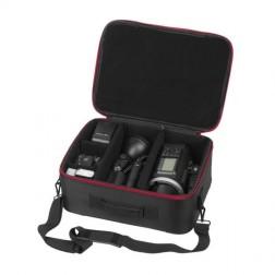 Quadralite Mobile Carry Case Transporta Soma Nelielām Zibspuldzēm