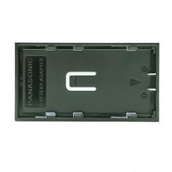 Quadralite Thea LED Panasonic VBG6 akumulatoru adapteris