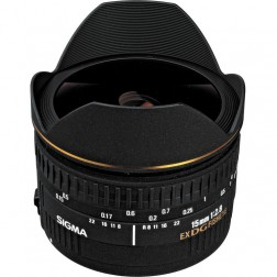 Sigma 15mm F2.8 EX DG Diagonal-Fisheye objektīvs Nikon