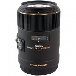 Sigma 105mm F2.8 EX DG OS HSM Macro objektīvs Nikon