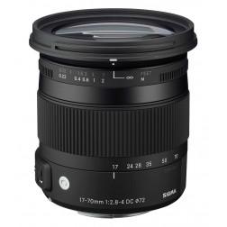 Sigma 17-70mm F2.8-4.0 DC Macro OS HSM objektīvs Nikon