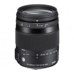 Sigma 18-200mm F3.5-6.3 DC HSM OS objektīvs Nikon
